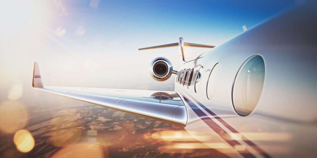 Voyage en avion privé