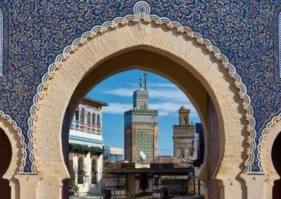 1 Bab Bou Jeloud la porte bleue Unesco