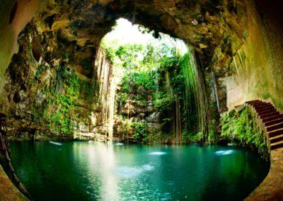 1 Cenote Ik Kil au Yucatan