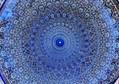 1 Dome de la Mosquee de Samarcande