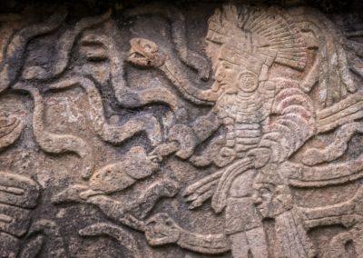 1 Reliefs maya a Chichen Itza Unesco