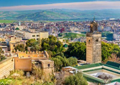 1 Vue panoramique sur la Medina Unesco