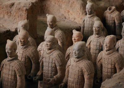 2 Armee enterree au Mausolee de lempereur Qin Unesco