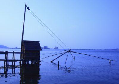 2 Crepuscule sur le lac Togo