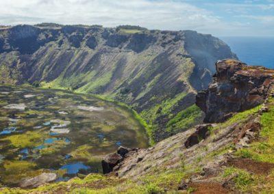 3 Cratere du volcan Rano Kau Unesco