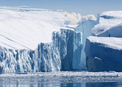 3 Glacier dans la baie de Disko