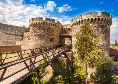 3 Kalemegdan la forteresse de Belgrade