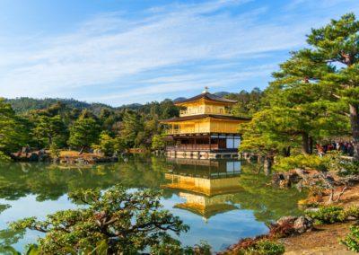 3 Le temple Kinkaku Ji le Pavillon dOr