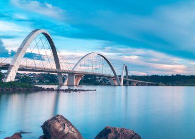 3 Pont Juscelino Kubitschek sur le lac Paranoa Unesco