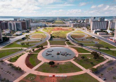 3 Vue aerienne du plan pilote de Brasilia Unesco