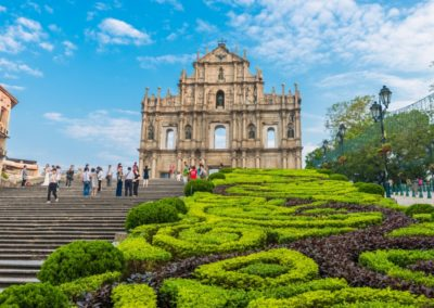 4 Les ruines de la Cathedrale Saint Paul Unesco