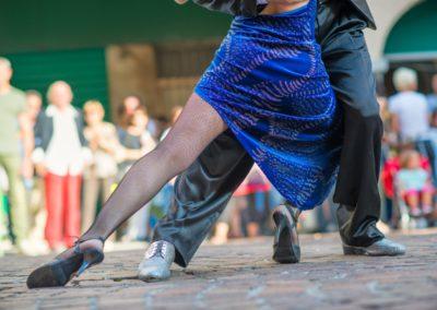 5 Demonstration de tango a Buenos Aires