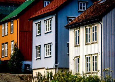 5 Maisons traditionnelles colorees