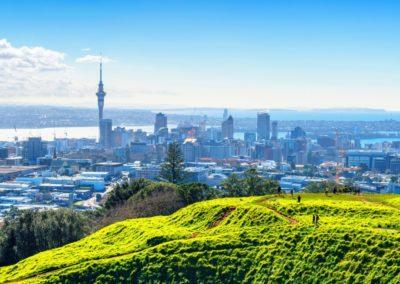 5 Vue sur Auckland depuis le Mont Eden