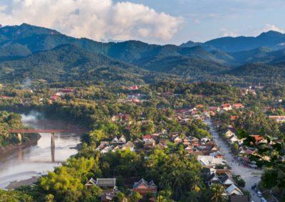 5 Vue sur la peninsule de Luang Prabang Unesco