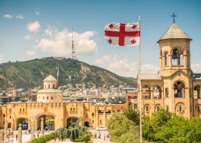 5 Vue sur le centreville de Tbilissi