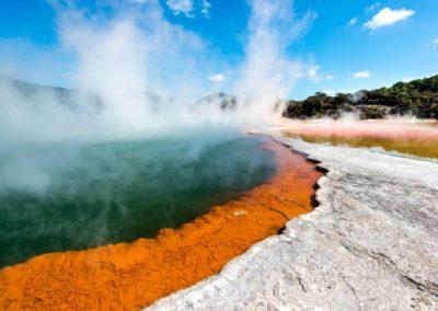 5 Zone thermale dans le Parc National de Wai O Tapu