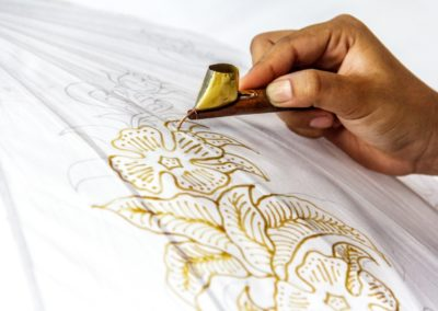 6 Fabrication du batik