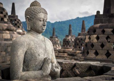 6 Temple de Borobodur Bouddha Unesco