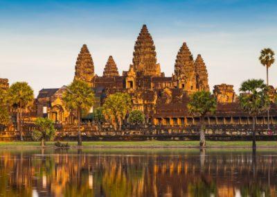 6 Vue sur le Temple Angkor Vat Unesco