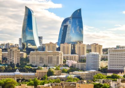 6 Vue sur le centreville de Bakou