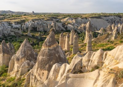 7 Formations rocheuses dans la vallee de Goreme