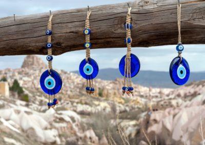 7 Nazar boncuk amulettes de protection