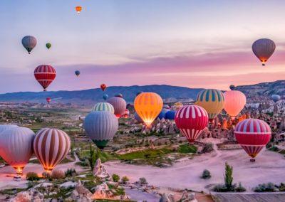 7 Survol de la vallee en montgolfiere