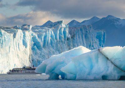 7 Vue sur le glacier Perito Moreno