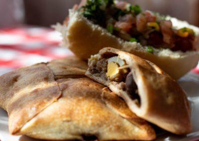 8 Empanadas et choripan