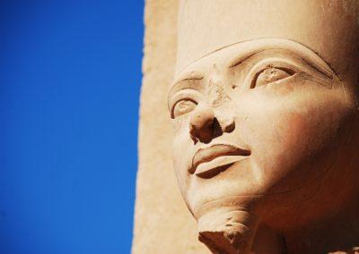 8 Le regard du pharaon temple de Karnak Unesco