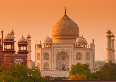 8 Lever de soleil au Taj Mahal Unesco