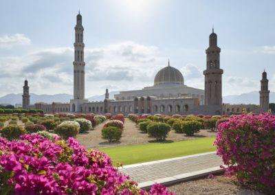 8 Vue sur la Grande Mosquee du Sultan Qaboos