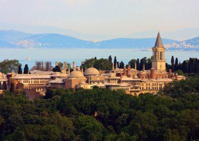 8 Vue sur le Palais de Topkapi devant la mer de Marmara Unesco