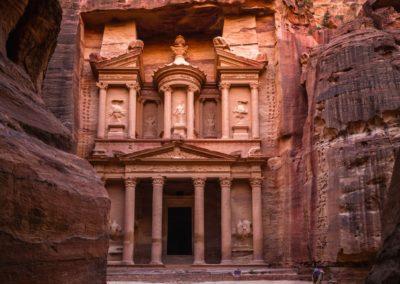 9 Al Khazneh Le Tresor de Petra Unesco