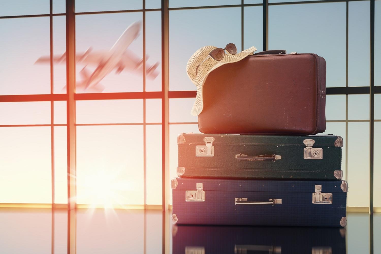 Divers Air Aeroport Depart Valise Bagages Vacances S404868334