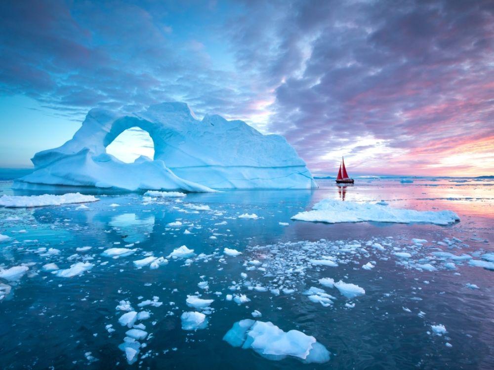 Entre les glaciers