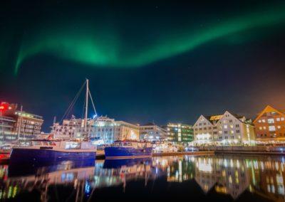 2 Lumieres nocturnes de Tromso