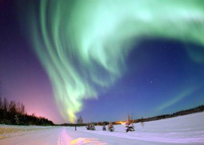3 Aurore boreale envoutante