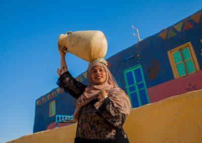 Femme nubienne