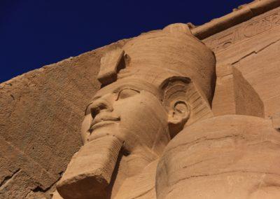Ramsès II à Abou Simbel